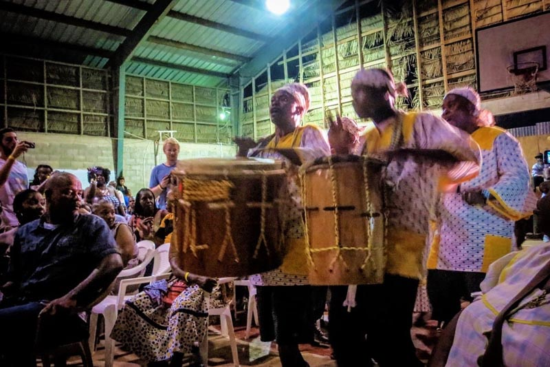 drum festival in Belize
