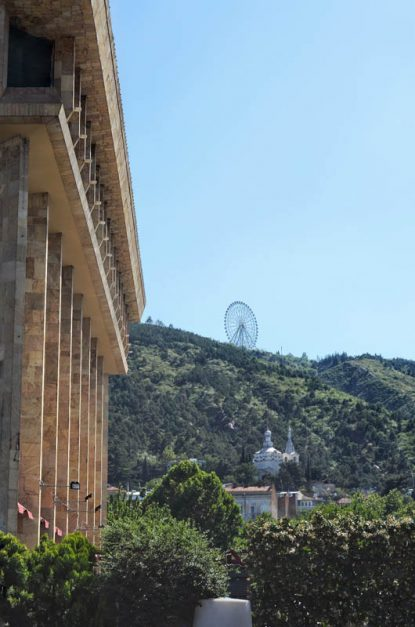 arial tramway over Kura River | City of Tbilisi
