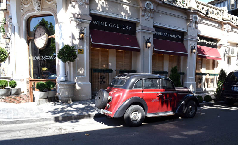 tbilisi wine bars | the wine gallery