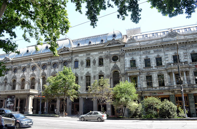 architecture of Tbilisi Georgia