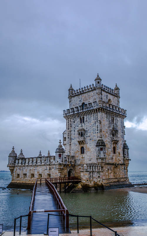 Belem Tower Lisbon | what to see on a layover in Lisbon