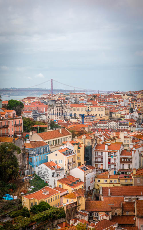 1 day stopover lisbon tips | Miradouro das Portas do Sol