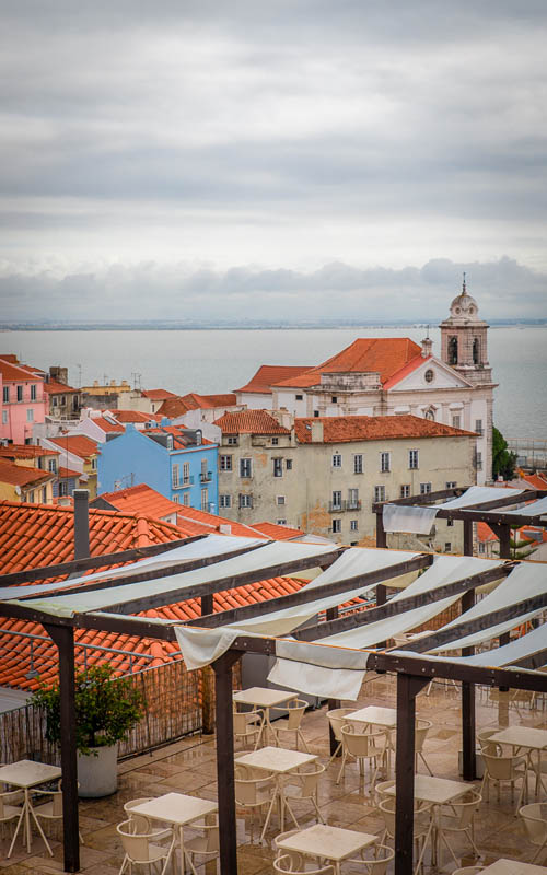 what to see in lisbon Miradouro das Portas do Sol | layover guide