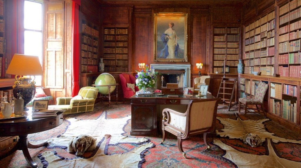 Dunrobin Castle tea room