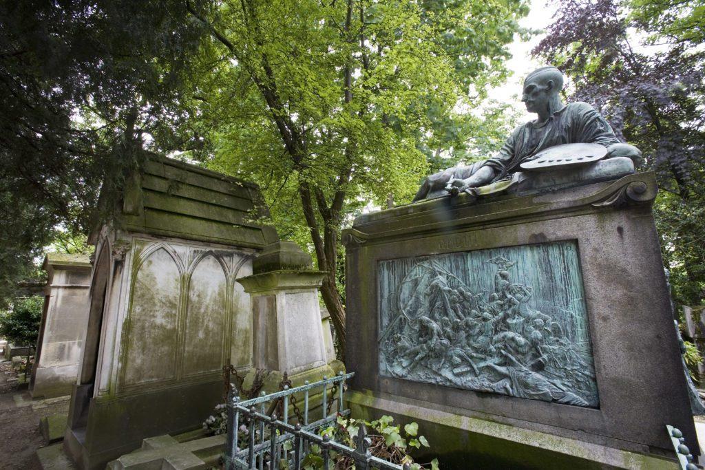 Paris Le Père Lachaise cemetery