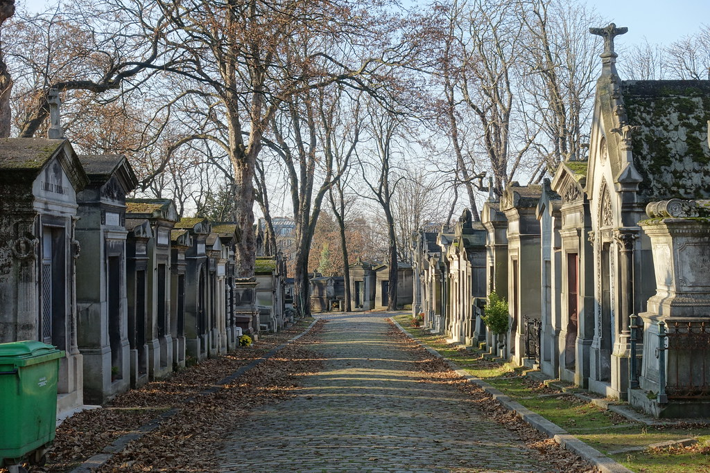 Pere Lachaise Cemetery of Paris