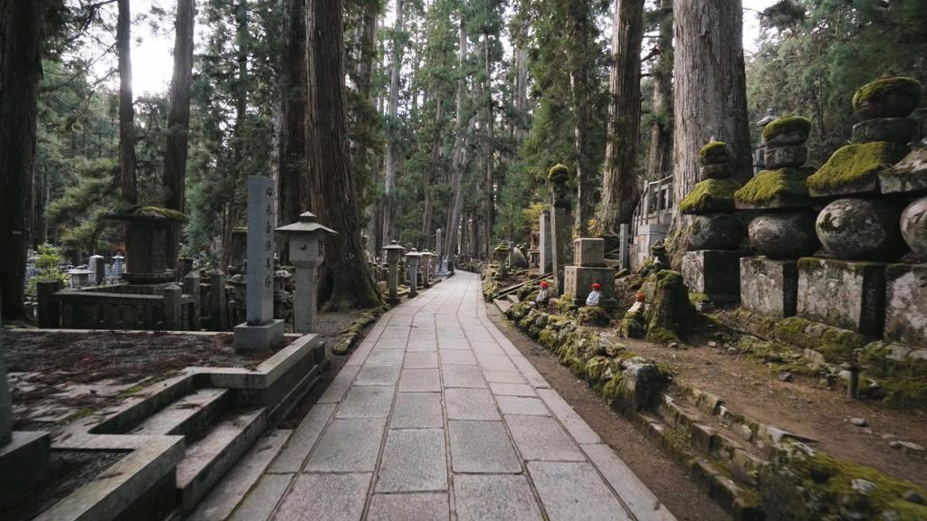 Koyasan Okunoin Cemetery