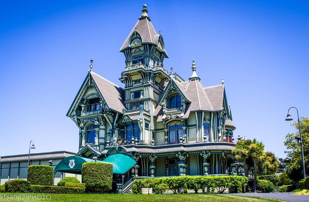 carson mansion california