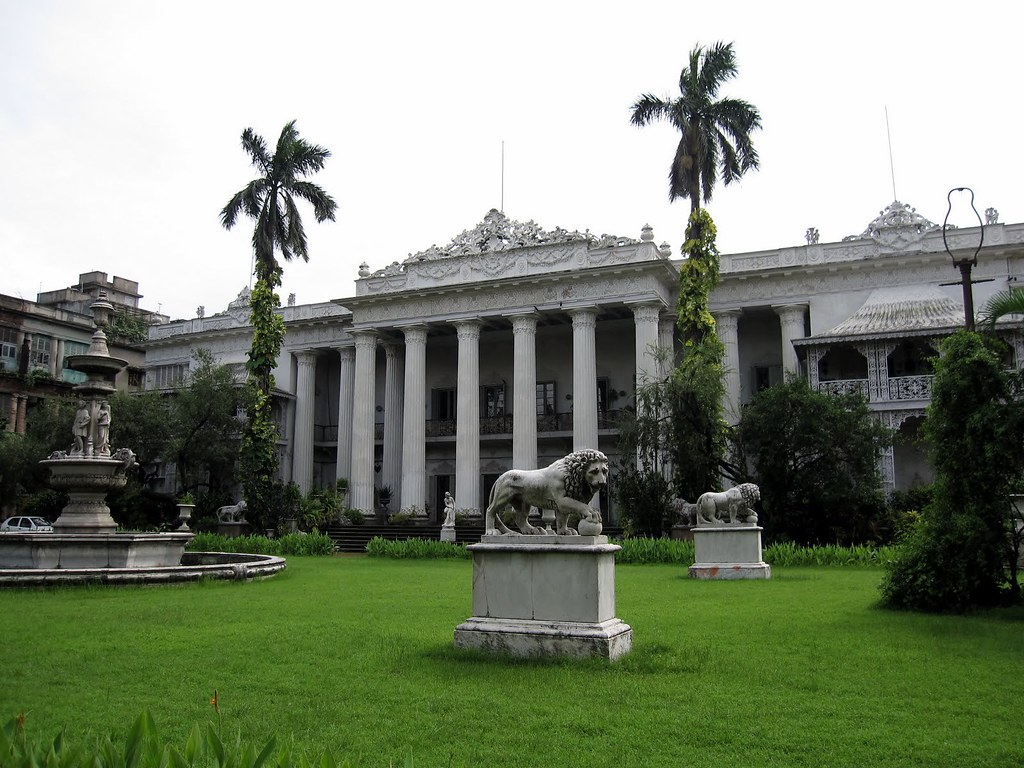 The Marble Palace in Kolkata