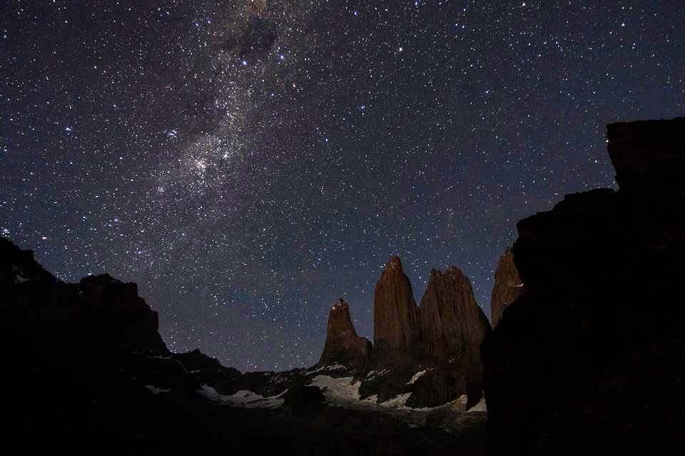 night sky Torres Del Paine