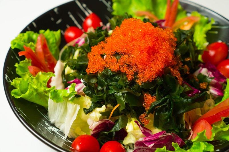 Chuon fish roe salad