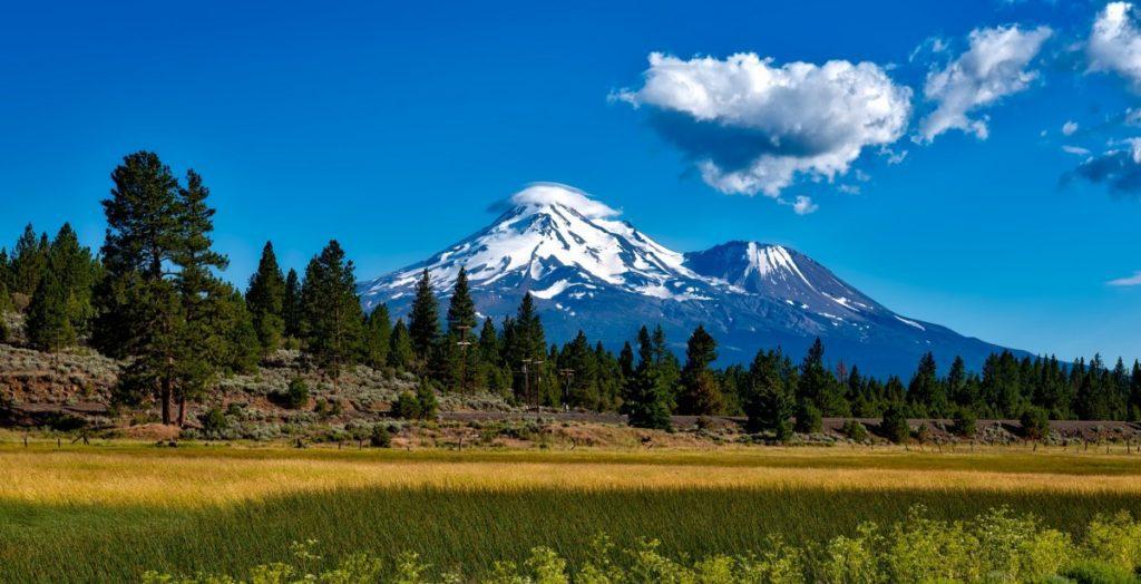 shasta mountain california