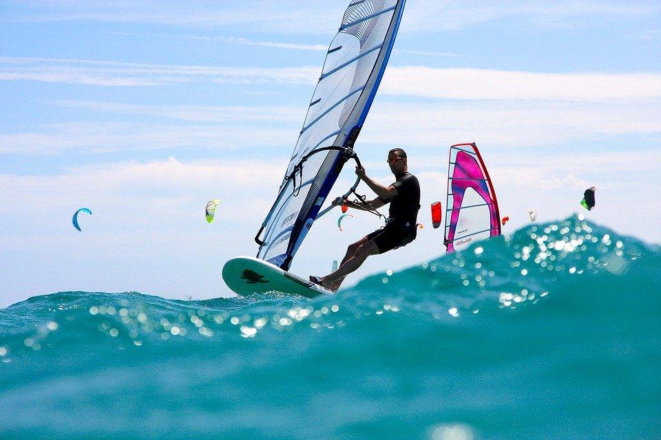 My khe windsurfing
