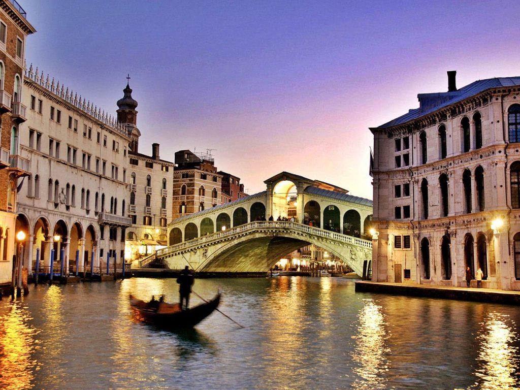 Milan Italy Sunset