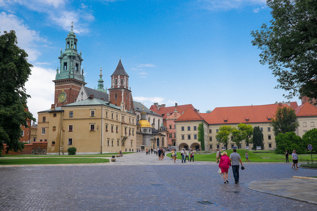 Wawel Royal castle Poland