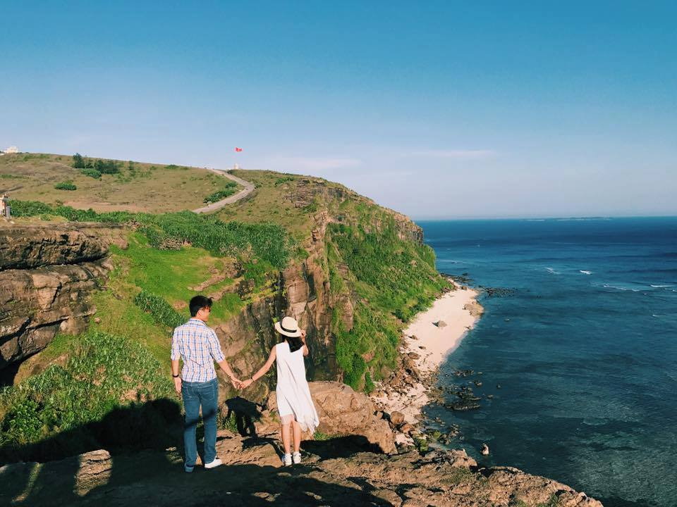 Solo travel experience in Ly Son Island