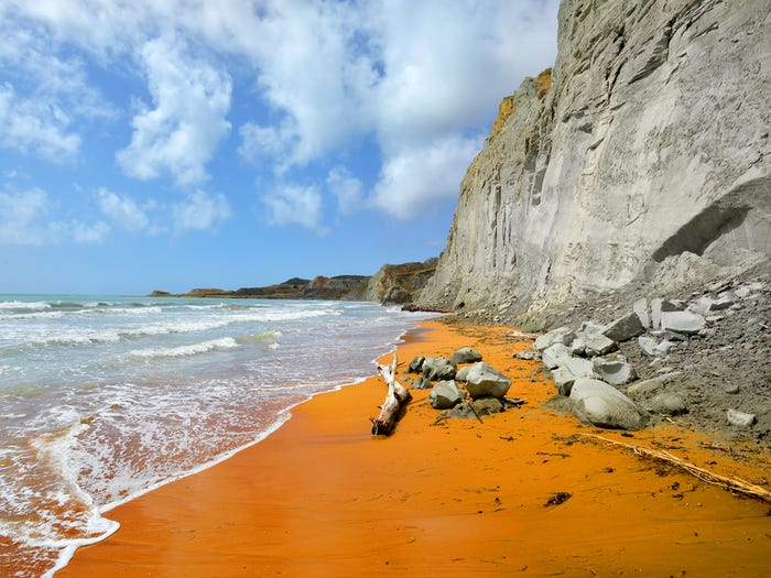 Xi Beach Kefalonia Greece