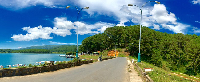 Tuyen lam lake vietnam