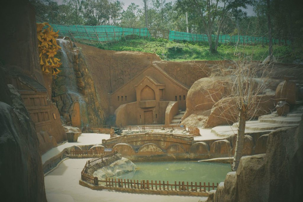 clay tunnel in dalat